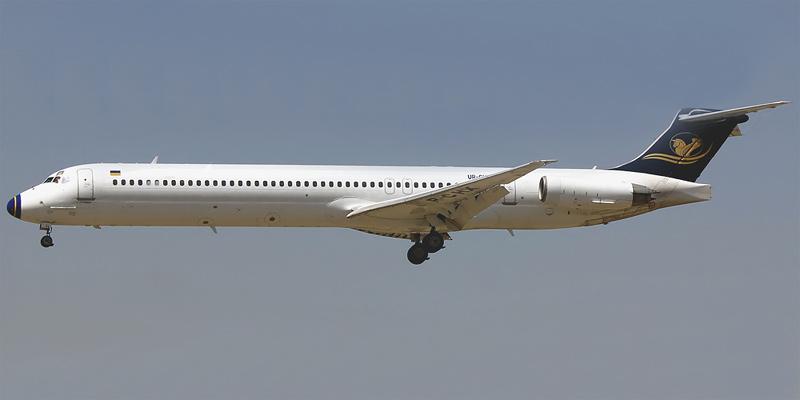 MD-80 авиакомпании Iran Air Tours