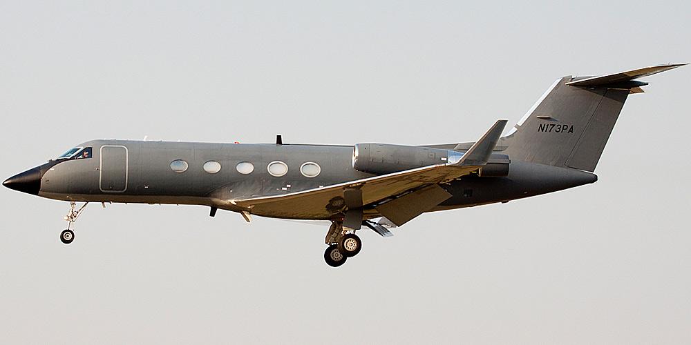 Самолет Grumman Gulfstream авиакомпании Phoenix Air