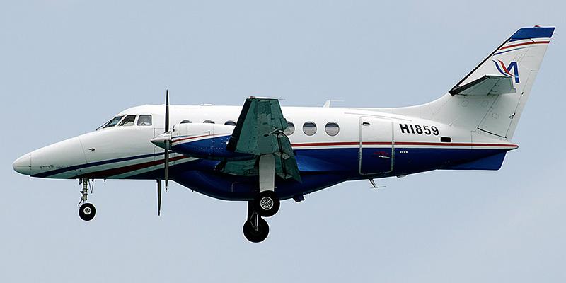 Самолет Jetstream 31 авиакомпании Aerolineas MAS