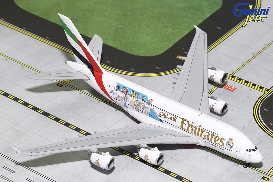 "Airbus A380-800 ""Real Madrid"""