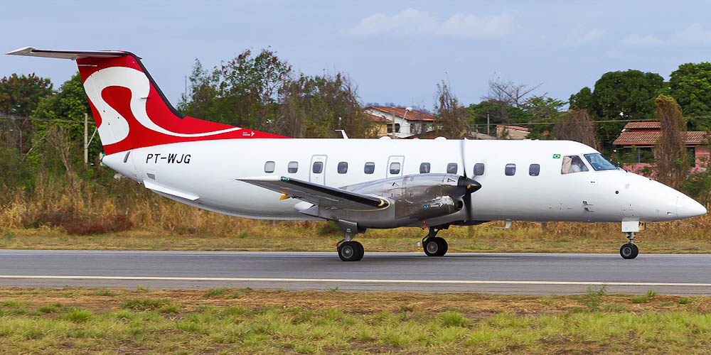 Самолет Embraer EMB-120 авиакомпании RICO