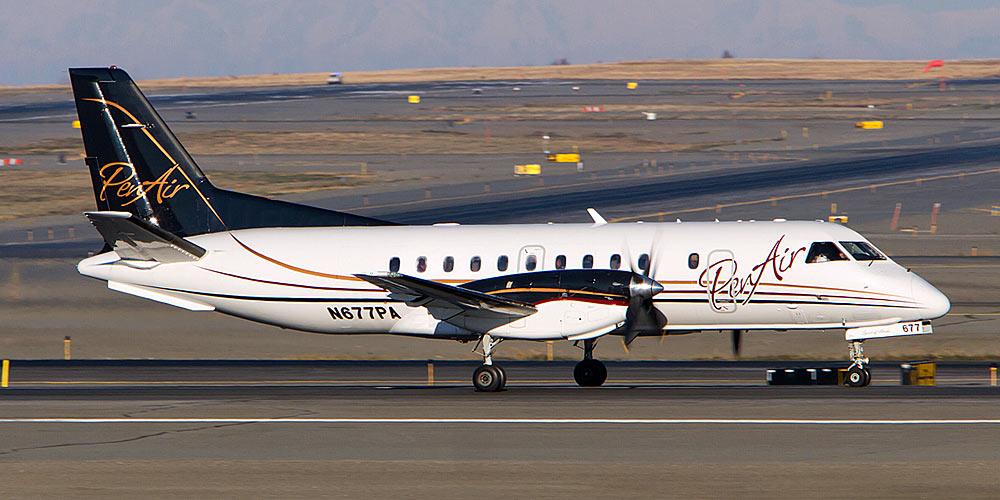 Самолет Saab 340 авиакомпании PenAir