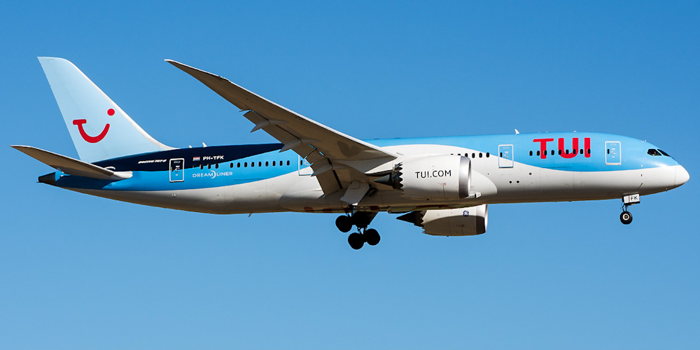 Боинг-787-8 авиакомпании TUI Airlines Netherlands