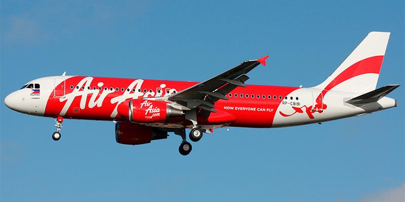 Самолет Airbus A320 авиакомпании AirAsia Philippines