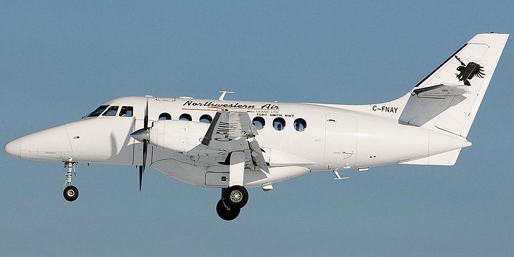 BAe Jetstream 31 авиакомпании Northwestern Air