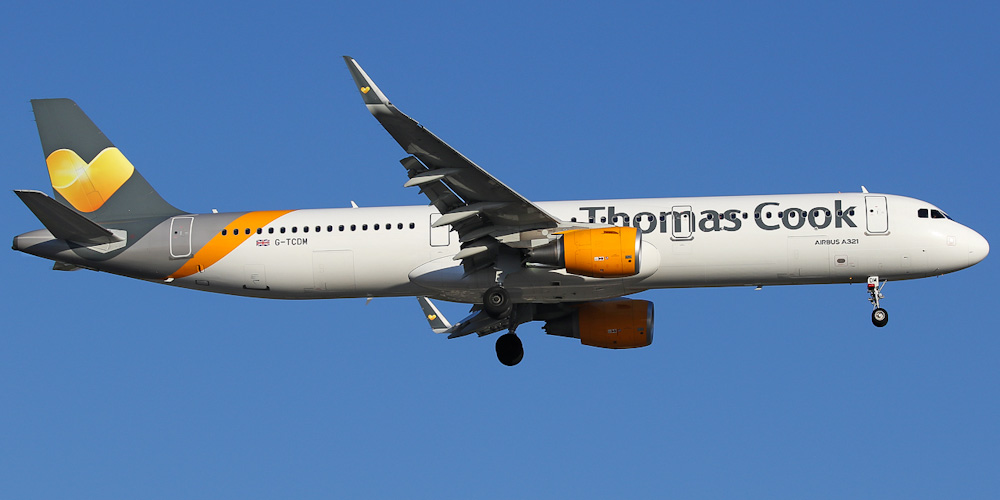 Airbus A321 авиакомпании Thomas Cook Airlines