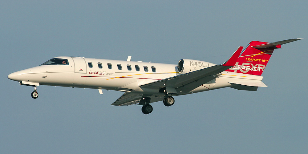 Bombardier Learjet- passenger aircraft. Photos, characteristics, reviews.