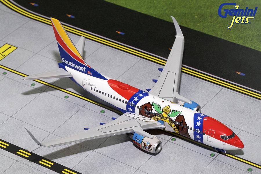 """Boeing 737-700 """"Missouri One"""""""