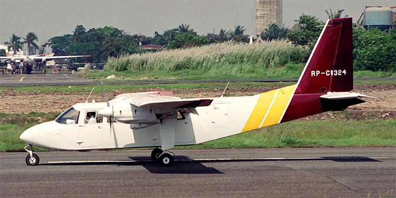 Самолет Britten-Norman Islander авиакомпании Pacificair