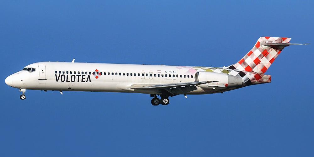 Самолет Боинг-717 авиакомпании Volotea