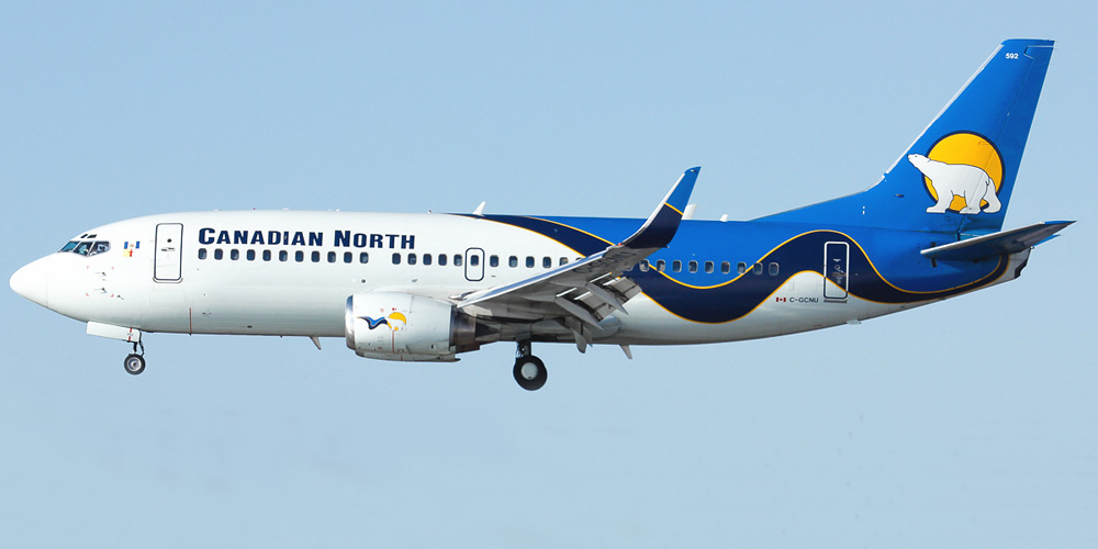 Boeing 737-300 авиакомпании Canadian North
