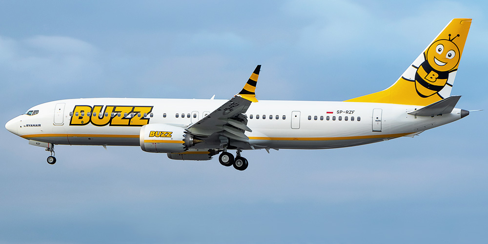 Buzz airline