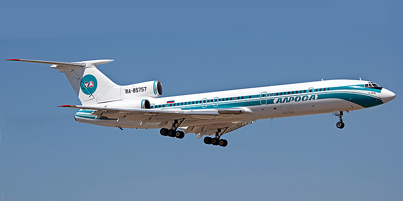 Tupolev Tu-154- passenger aircraft. Photos, characteristics, reviews.