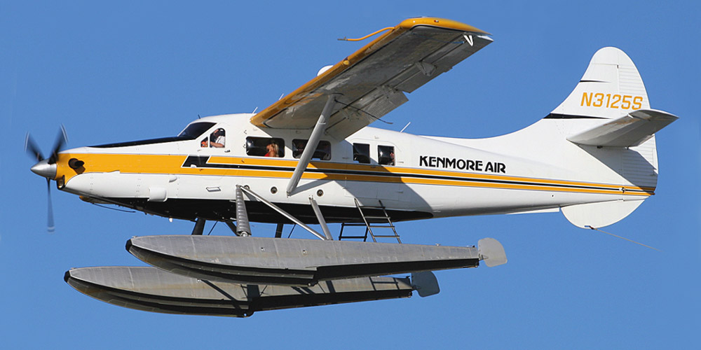 Самолет DHC-3 Otter авиакомпании Kenmore Air