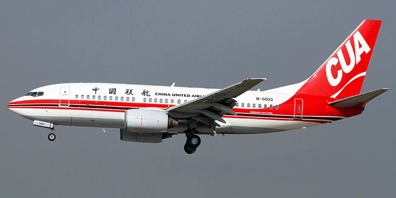 Боинг-737-700 авиакомпании China United Airlines