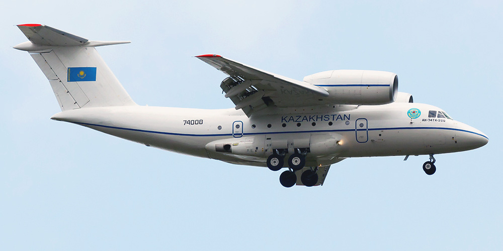 Antonov An-72/An-74- passenger aircraft. Photos, characteristics, reviews.