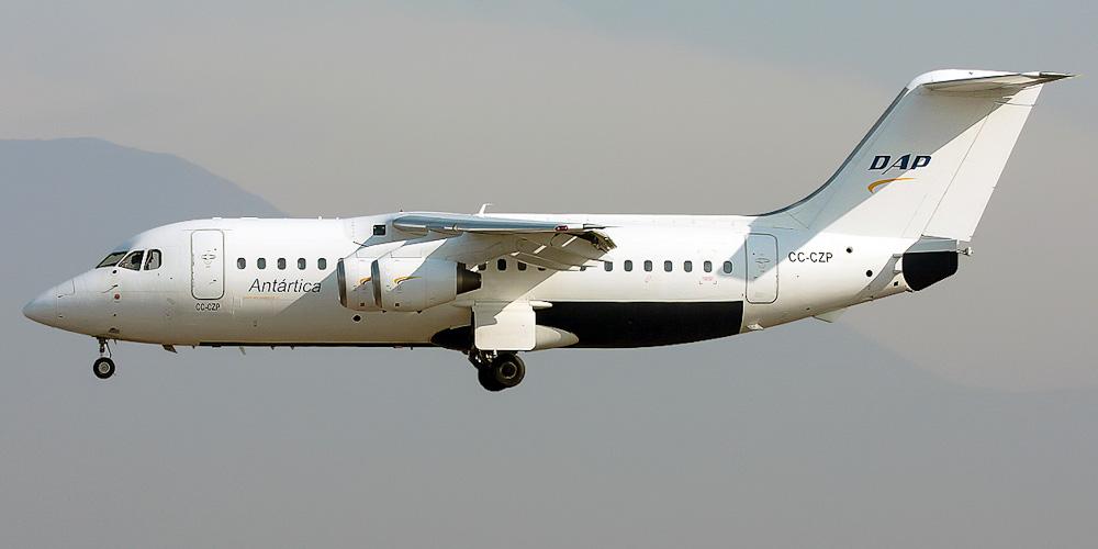 Самолет BAe-146 авиакомпании DAP
