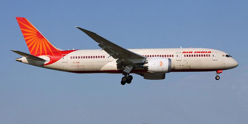 Боинг-787 авиакомпании Air India