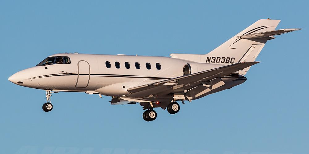 BAe 125- пассажирский самолет. Фото, характеристики, отзывы.