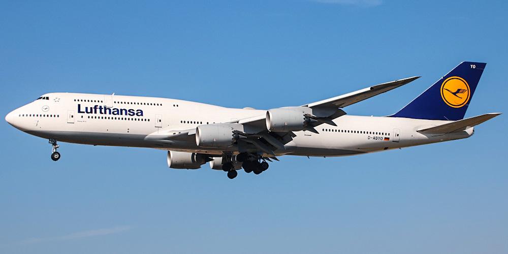 Боинг-747-8 авиакомпании