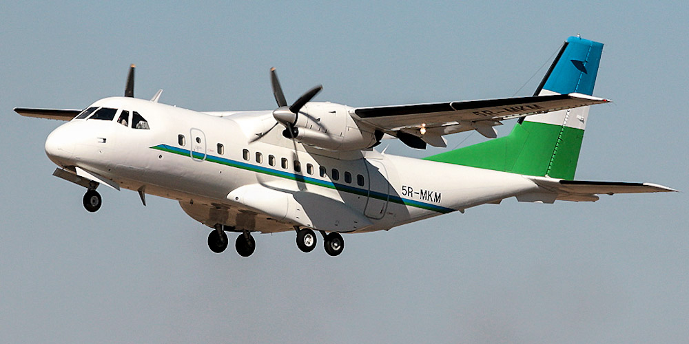 Indonesian Aerospace CN-235- passenger aircraft. Photos, characteristics, reviews.