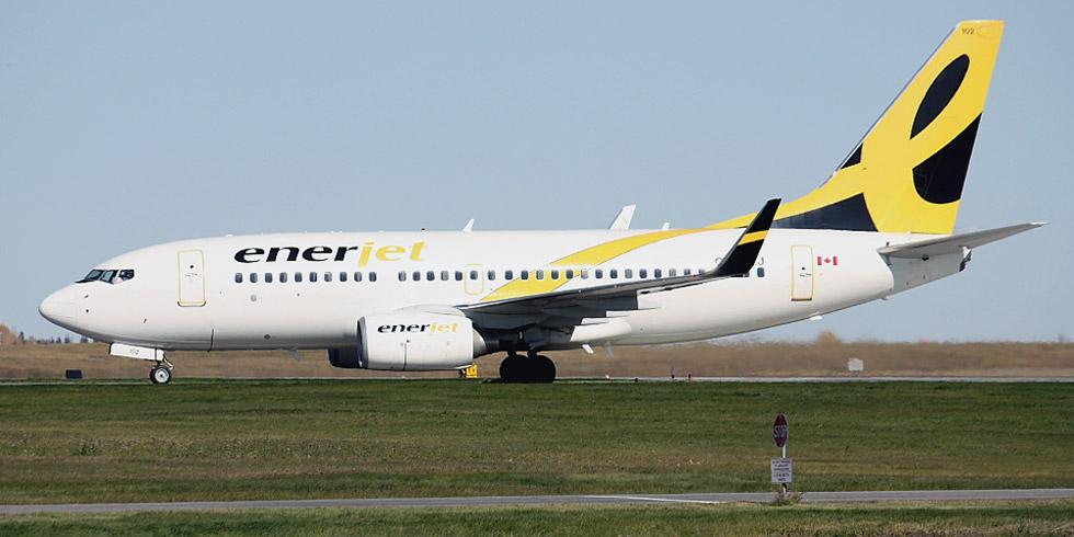 Boeing 737-700 авиакомпании Enerjet