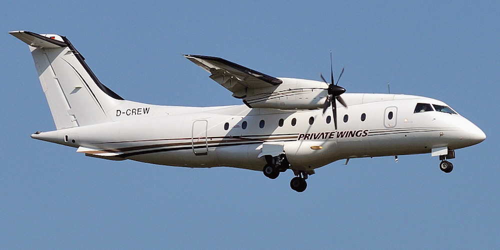 Dornier 328 авиакомпании Private Wings