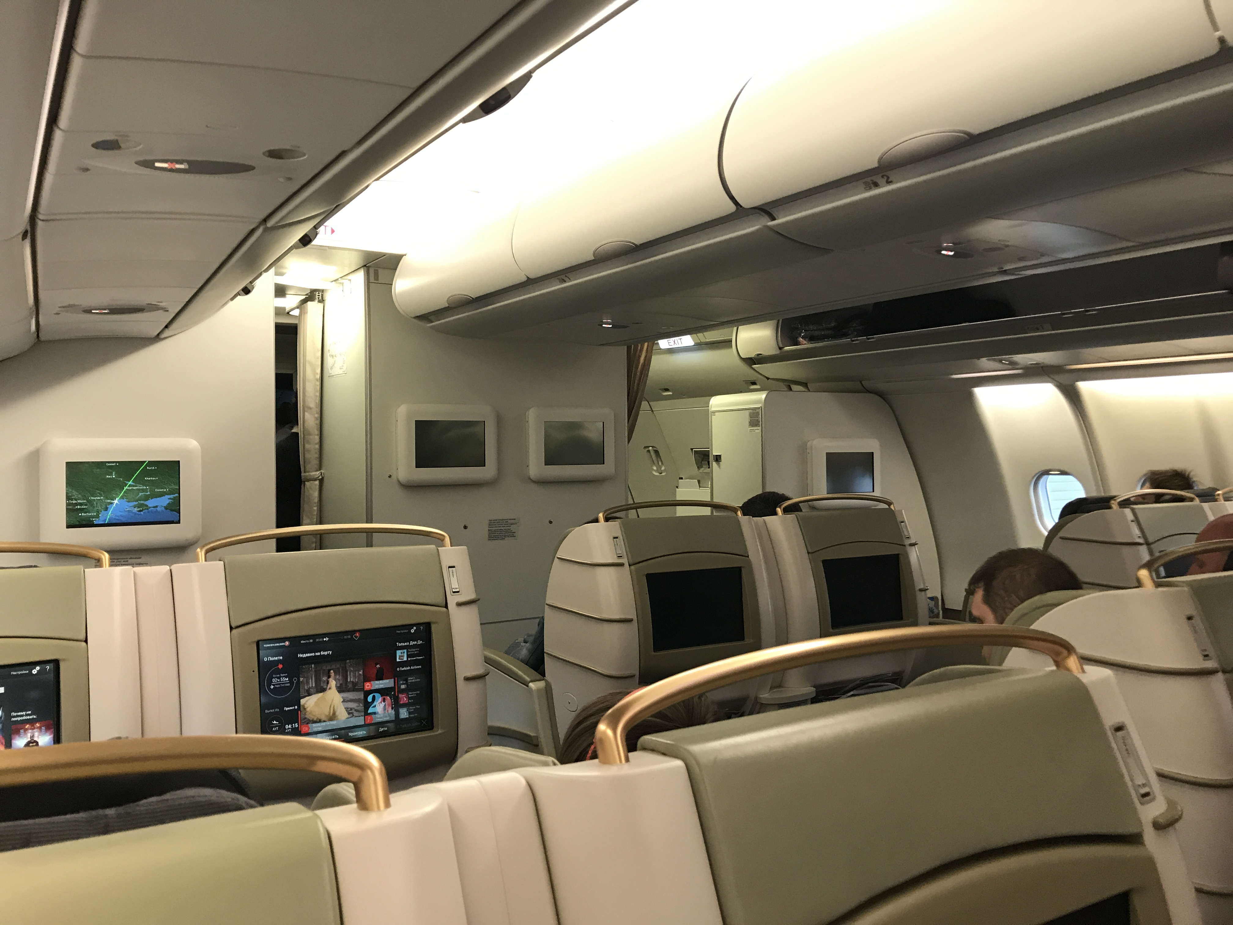 Business class Airbus A330-200 Turkish Airlines