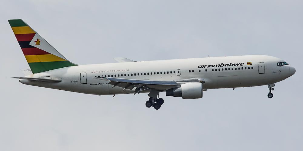 Боинг-767-200 авиакомпании Air Zimbabwe