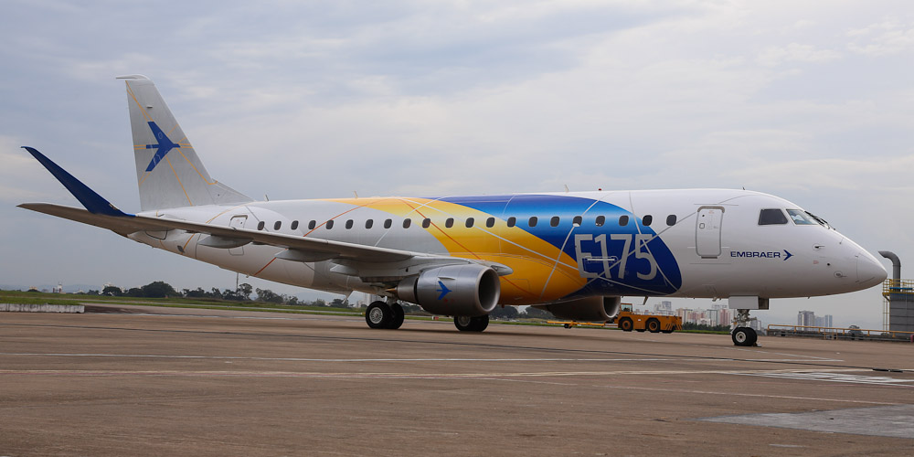 Embraer Е175-Е2- passenger aircraft. Photos, characteristics, reviews.