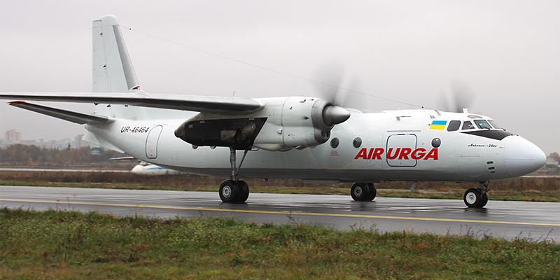 Самолет Ан-24 авиакомпании Air Urga