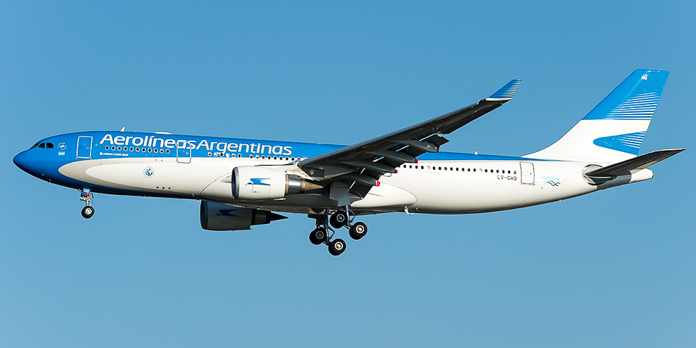 Самолет Airbus A330-200 Авиалиний Аргентины