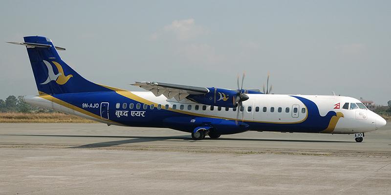 ATR 72 авиакомпании Buddha Air