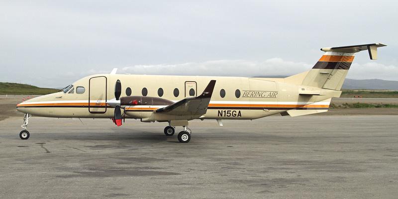 Самолет Beechcraft 1900D авиакомпании Bering Air