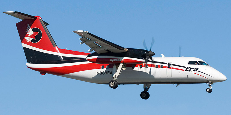 Bombardier Dash 8-100/200- passenger aircraft. Photos, characteristics, reviews.
