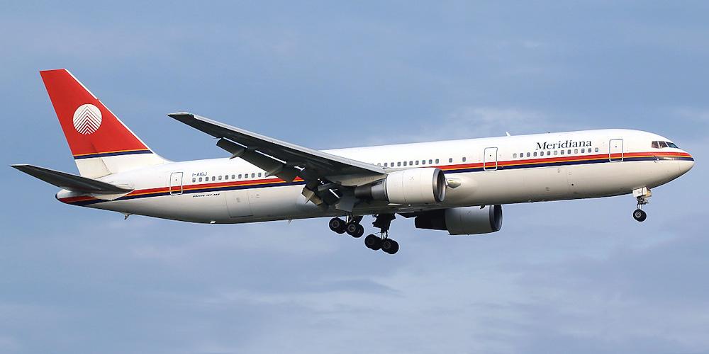 Боинг-767-300 авиакомпании Air Italy