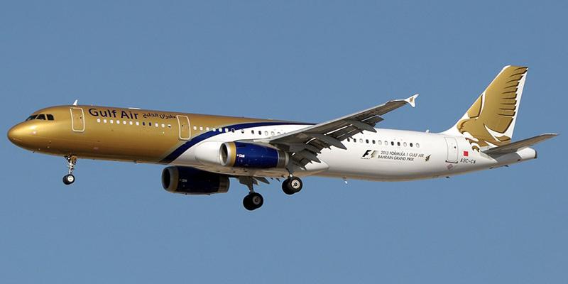 Airbus A321 авиакомпании Gulf Air