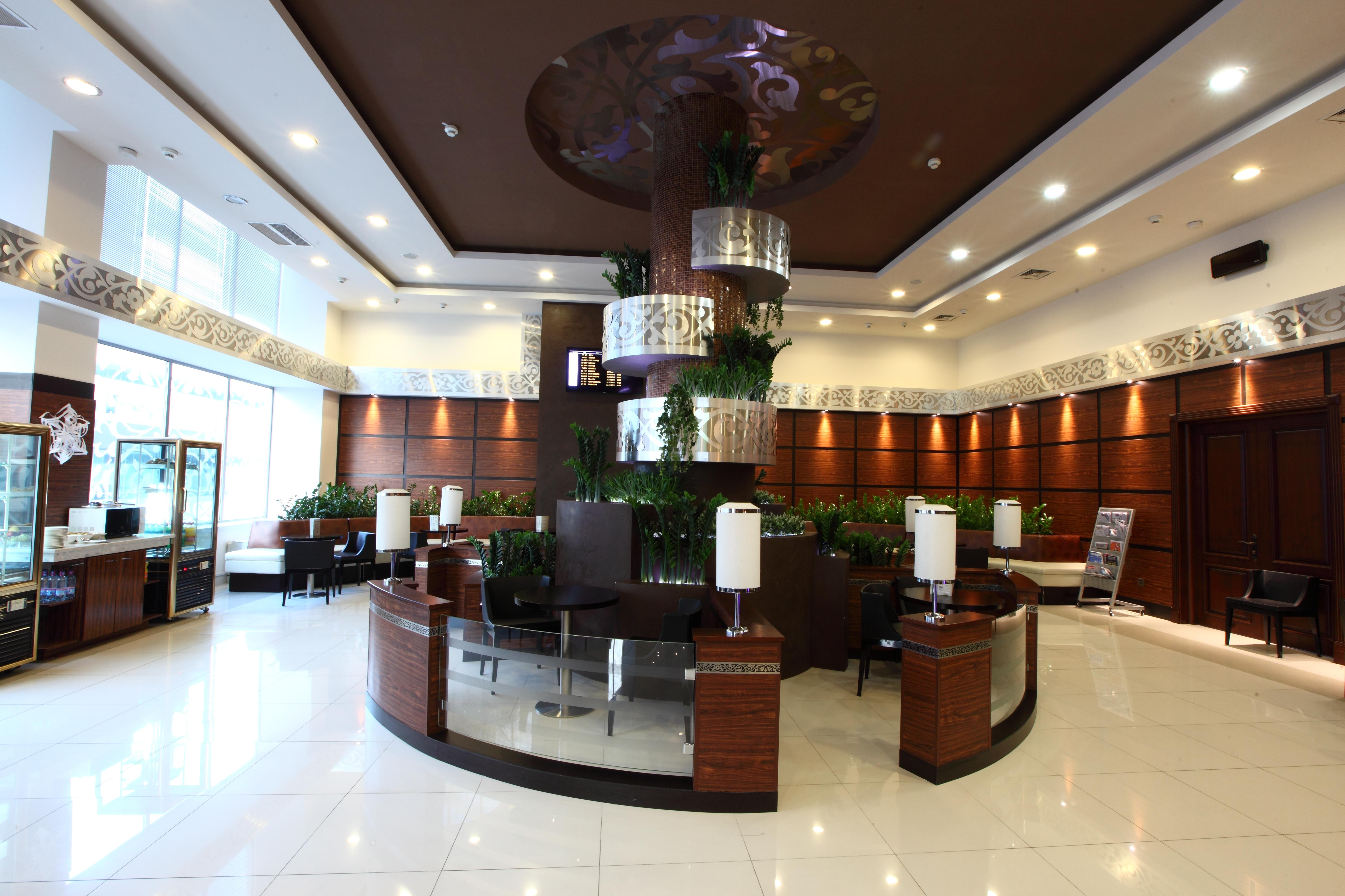 CIP hall of Tashkent airport