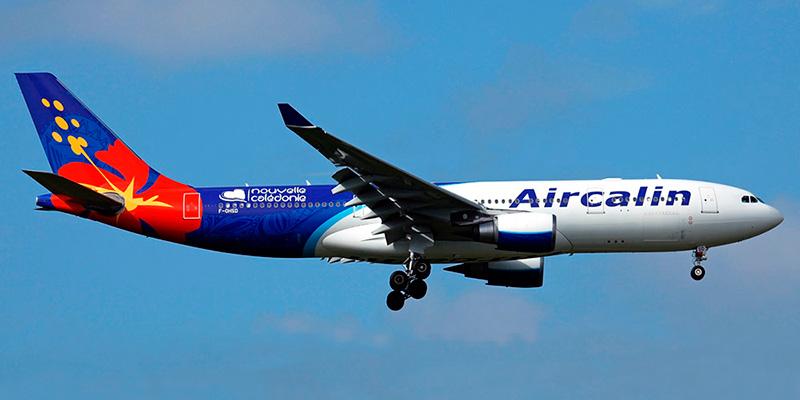 Самолет Airbus A330-200 авиакомпании Aircalin