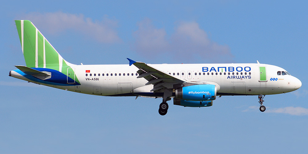 Airbus A320 авиакомпании Bamboo Airways
