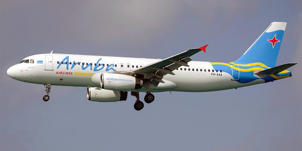 Airbus A320 авиакомпании Aruba Airlines