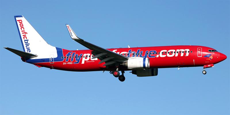 Самолет Боинг-737-800 авиакомпании Pacific Blue
