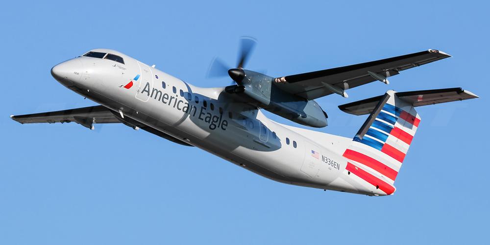 Самолет Bombardier Dash 8Q-300 авиакомпании Piedmont Airlines