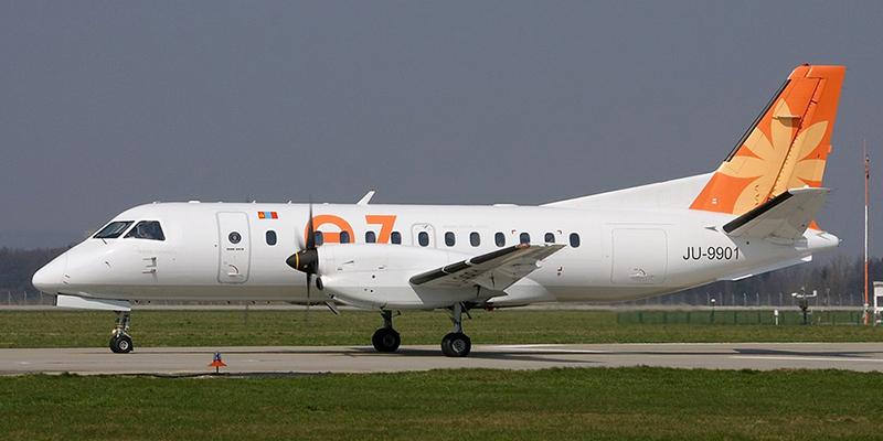 Saab 340 авиакомпании Eznis Airways