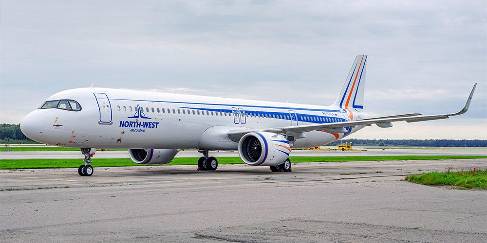 Airbus A321neo авиакомпании North-West