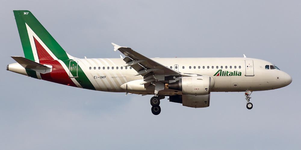 Airbus A319 авиакомпании Alitalia