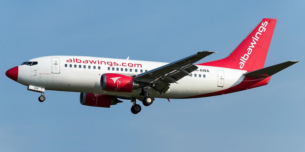 Боинг-737-500 авиакомпании Albawings