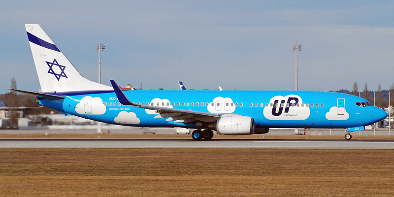 Боинг-737-800 авиакомпании UP