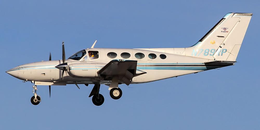 Cessna 421 Golden Eagle- пассажирский самолет. Фото, характеристики, отзывы.