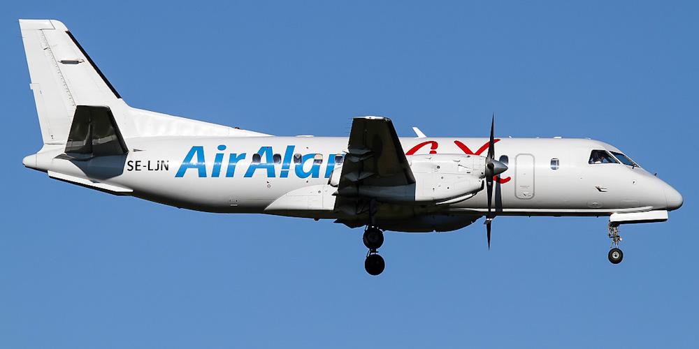 Saab 340 авиакомпании Air Aland